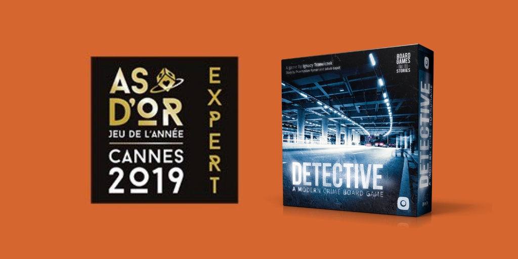 Detective wins Game of the Year expert category in France!